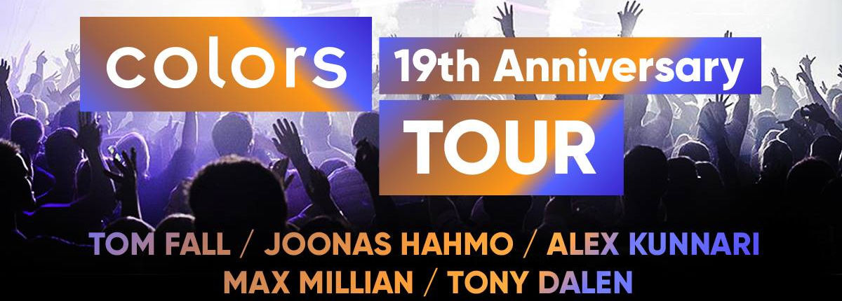 Colors 19th Anniversary tour